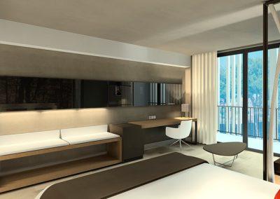 Hote Illot Suites STQ Project Construction Management
