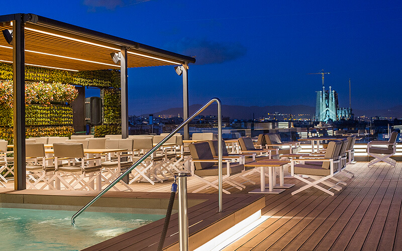 Hotel Majestic & Spa – Terraza Dolçe Vita